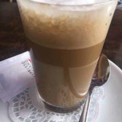 Cortado largo. Cafe en Lanzarote.