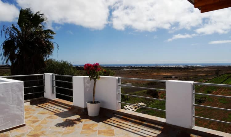 Views from Apartment Tahiche Terrace, Lanzarote, Holiday Rental